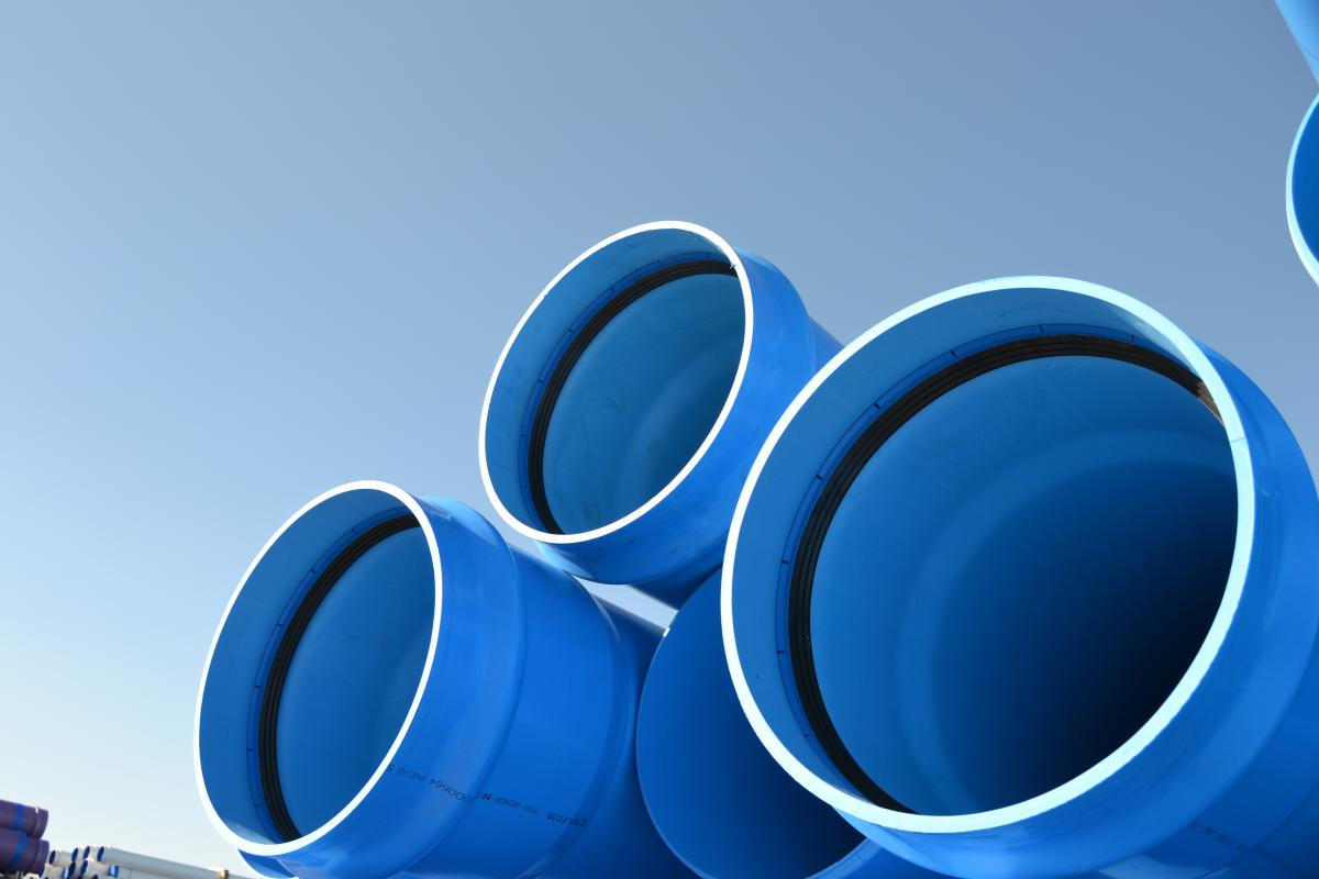 Molecor PVC-O pipes
