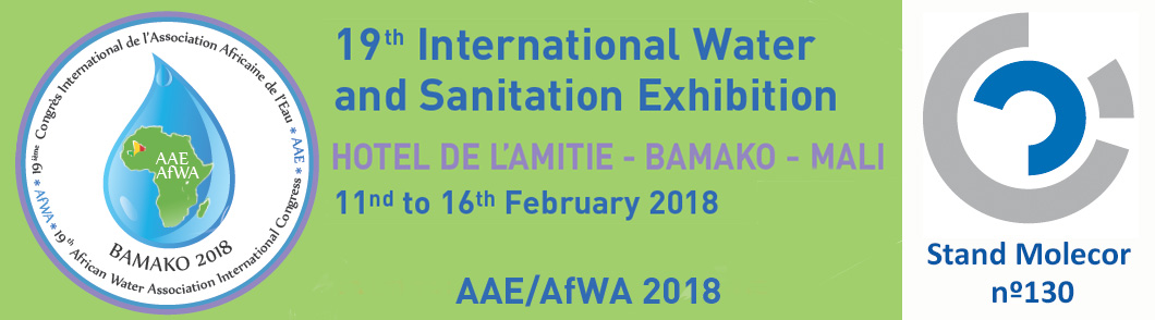 Molecor estará presente en la próxima edición 19th International Congress of the African Water Association – Bamako (Mali)