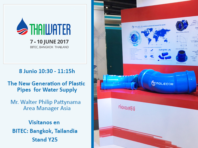 Molecor en Thai Water 2017