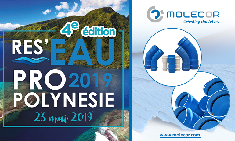 Molecor will be present at RES'EAU PRO 2019