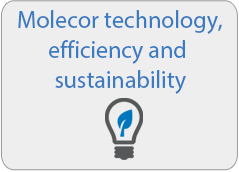Molecor technology, efficiency and sustainability