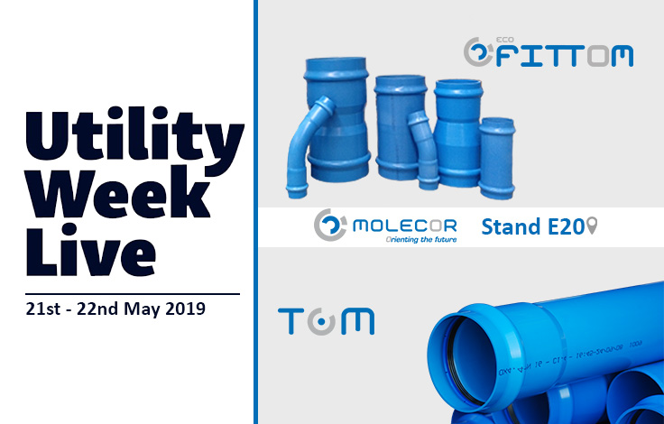 TOM® and ecoFITTOM® will be present at Utility Week Live 2019