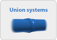 Molecor union systems