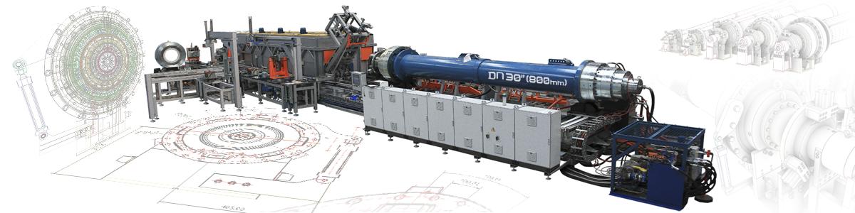 Tecnología para fabricar la tubería más grande del mundo: DN 800 mm