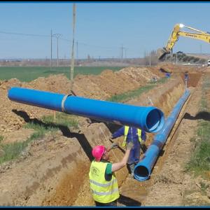 Proyecto de Transformación en Regadío del Sector XXII de la Subzona de Payuelos –Área Cea- de la Zona Regable de Riaño (León)