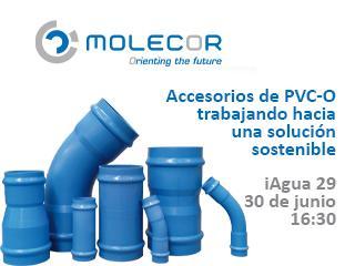 Accesorios de PVC-O, trabajando hacia una solución sostenible